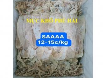 Mực khô – Loại 1 (size M) – Túi 0,5kg